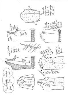 Blazer transpassado alfaitaria | DIY - molde, corte e costura - Marlene Mukai Couture, Sewing Patterns, How To Wear, Diy, Zig Zag, Jacket, Fashion, Sewing Tutorials, Sewing Tips