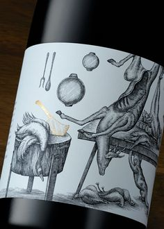 Lovely wine label! #Ravensworth #packaging #label #wine