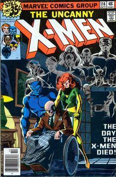 Uncanny X-Men #114.