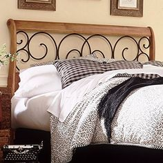 Dunhill Wood Headboard With Sleigh Style Design And Autum Https Www Dp B000msy5bu Ref Cm Sw R Pi X Rlvfyb9wp4azn