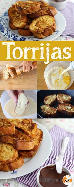 How to make French toast?, Recipe Ptitchef - French toast: a super easy recipe that will allow you to use your leftover stale bread ; Easy French Toast Recipe For Two, Make French Toast, Mini Desserts, Vegan Desserts, Easy Desserts, French Toast Sticks, French Dishes, French Toast Casserole, Meals For One