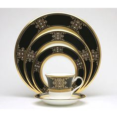 Noritake Evening Majesty 20 Piece Dinnerware Set, Service for 4 Melamine Dinnerware Sets, Bone China Dinnerware, Tableware, Kitchenware, Black Dinnerware, Dinnerware Ideas, Casual Dinnerware, Royal Doulton, Royal Copenhagen