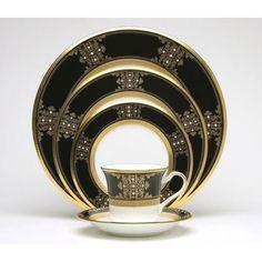 Noritake Evening Majesty Dinnerware Collection.