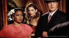 Nathan Fillion, Stana Katic, and Tamala Jones in Castle
