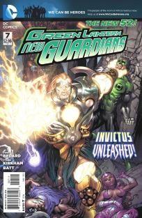 Green Lanterns - New Guardians #7 Tony Bedard Tyler Kirkham---> shipping is $0.01!!!