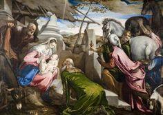 BASSANO, Jacopo Italian High Renaissance (ca.1510-1592)_The Adoration of the Magicirca 1567-1569