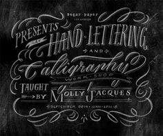 Illustration & Lettering: Molly Jacques