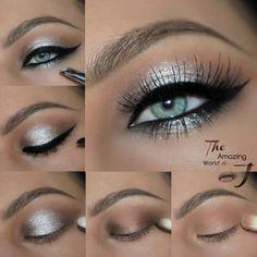 "Weekend Beauty: ""Schau mich an"" Make-up . Weekend Beauty: ""Schau mich an"" Make-up Tutorial Makeup Tips, Beauty Makeup, Hair Makeup, Makeup Ideas, Makeup Products, Makeup Tutorials, Eyeliner Makeup, Beauty Tutorials, Beauty Skin"