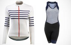 Café du Cycliste Claudette Jersey with Antoinette Shorts http://www.bicycling.com/bikes-gear/apparel/the-40-best-cycling-kits-of-2016/slide/9
