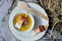 ABOUT VERENA : Kohlrabi Melonen Suppe / Creamy Kohlrabi Melon Soup