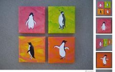 penguin art - may have to try my hand at drawing a penguin