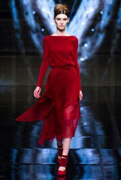 Donna Karan Fall 2014. love the dress, but loooove the shoes.