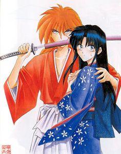 Stunning Kaoru and Kenshin