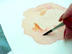 Painting a Rose in Watercolor. Watercolor is a skill that I would love to learn