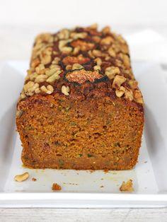 Whole Wheat Pumpkin Zucchini Bread|BakerMama --Sub Wholegrain Gluten Free flour add about 1 tsp gum.