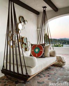 Furniture idea for screened porch