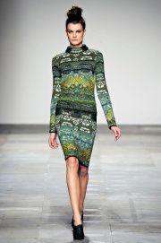Mary Katrantzou Fall 2012 RTW - Review - Fashion Week - Runway, Fashion Shows and Collections - Vogue