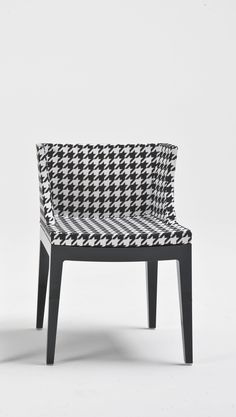 hound's tooth! =)  Mademoiselle by Philippe Starck | Recommended for fashion victims and stylish friends ;)
