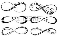 amour infini, toujours symbole