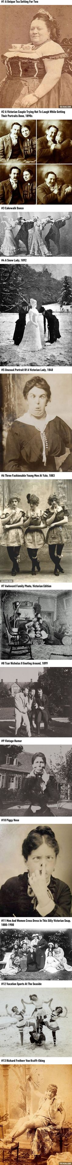 13 Rare Photos Of Victorians Proving They Weren't As Serious As You Thought 》the second is really cute :)