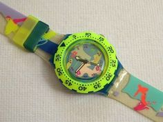 Swatch scuba over the wave