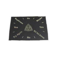 """8""""x12"""" Triquetra pendulum map"""