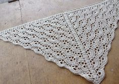 My Empty Nest: A Shelled Shawl For My Mother In Law