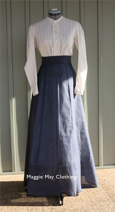 1890's farmer's wife work dresses - Google Search