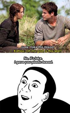 She is asking because it is so scarce. You would ask if it was real if you'd only eaten real bread once or twice in your whole life. Duh.