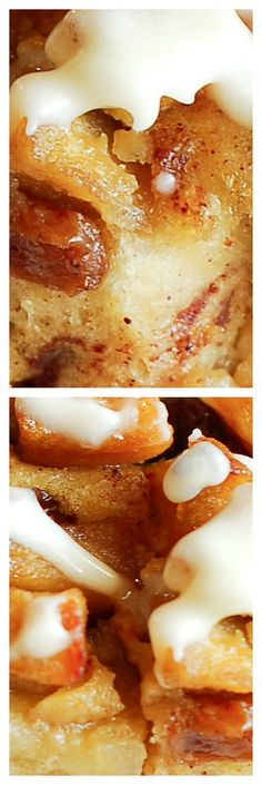 Cinnamon Roll Apple Cake with Cream Cheese Icing