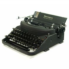 Remington Noiseless Model Seven Typewriter from The Antikey Chop