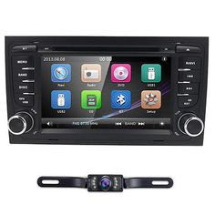 ﹩158.99. 7 Double 2 Din Screen Car Stereo DVD Player GPS Navigation Android For A4 Audi   Features - 2-Way Radio, Screen Size - 7in., Unit Size - 2 DIN,