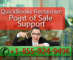 QuickBooks POS Technicians are Online at +1-855-924-9496 for any support on Restaurant POS System