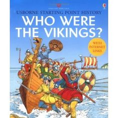 Books, Videos, and Websites about Vikings for Elementary Kids