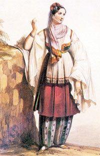 Greek Costumes, Empire Ottoman, I'm Fat, Greek Apparel, Greek Clothing, Dark Ages, Hair Designs, Fashion History, Santorini
