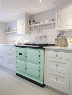 AGA unveils brand new colour – AQUA.   AGA is thrilled to announce a new addition to its colour palette. Aqua has been added to the collection, bringing the total number ofshades available up to 13. Aqua offers a fresh, modern take on a pastel shade and is an incredibly versatile colour when it comes to working with cabinetry, tiles and paint.