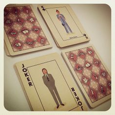 Wes Anderson-inspired playing cards designed by Max Dalton