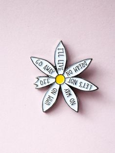 Pin's inspiration! #daisy #pins #