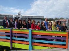 Friendship Bridge Unites Oak Park, Lakeview Elementary Schools - Sarasota, FL Patch