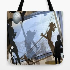 Anyone For Volleyball? Tote Bag