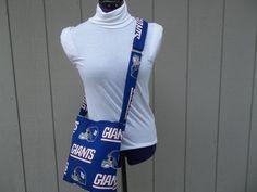New York Giants NFL Crossbody Novelty Bag by OMGDesigns on Etsy