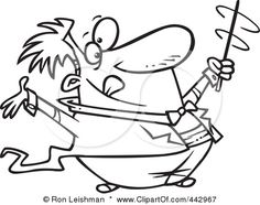 442967-royalty-free-rf-clip-art-illustration-of-a-cartoon-black-and-white-outline-design-of-a-music-conductor-swirling-his-baton.jpg (450×35...
