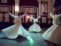 """A short snippet of the dance of the """"Whirling Dervishes"""": a sect of Sufi Islam. Beautiful."""