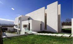 Fachada de dise�o completamente moderno minimalista #casasmodernasmexicanas #fachadasmodernasmexicanas