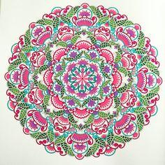 Mandala uit het enige echte mandala kleurboek