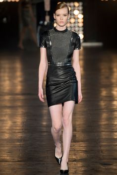See all the Collection photos from Diesel Black Gold Spring/Summer 2015 Ready-To-Wear now on British Vogue Runway Fashion, High Fashion, Fashion Show, Fashion Design, Female Fashion, Amanda Murphy, Trend Council, Vogue, Moda Chic