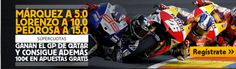 el forero jrvm y todos los bonos de deportes: betfair Marquez Pedrosa y Lorenzo Motogp Qatar mun...