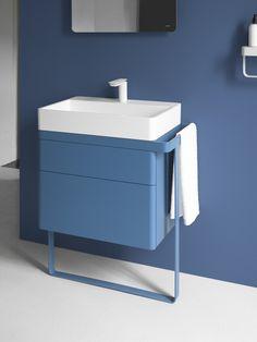 Small Bathroom Furniture and Design Ideas - DIY Home Art Baths Interior, Bathroom Interior, Modern Bathroom, White Bathroom, Bathroom Mixer Taps, Bathroom Toilets, Bathroom Storage, Small Bathroom Furniture, Restroom Design