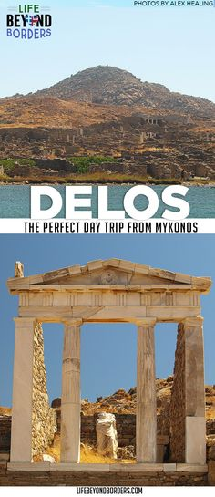 Come and meet the man who 'sleeps amongst the Gods' on the Greek mythological/archaeological site island and site of Delos, near Mykonos