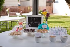 frost your own cupcakes (bridal shower)
